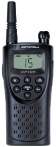 Motorola CP100 Two-way Radio