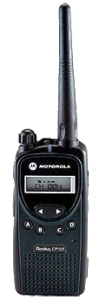 Motorola CP125 Two-way Radio
